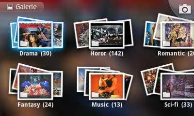 Gallery od Cooliris - prohlížeč obrázků a fotek pro Google Android - balíček fotek